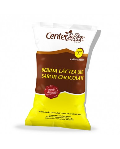 BEBIDA LÁCTEA UHT CHOCOLATE CENTER MIX 2L - CAIXA C/ 10 UND.