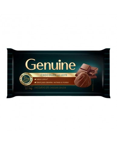 Chocolate Ao Leite Genuine 2.1Kg Cargil