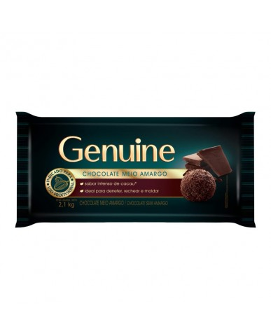 Chocolate Meio Amargo Genuine 2.1Kg Cargil